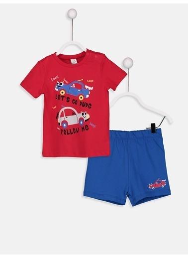 LC Waikiki Pijama Takım Kırmızı